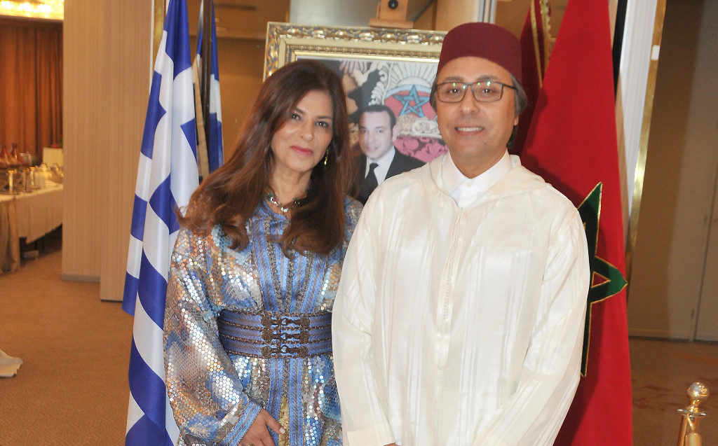 The celebration of the Throne Day of the Kingdom of Morocco