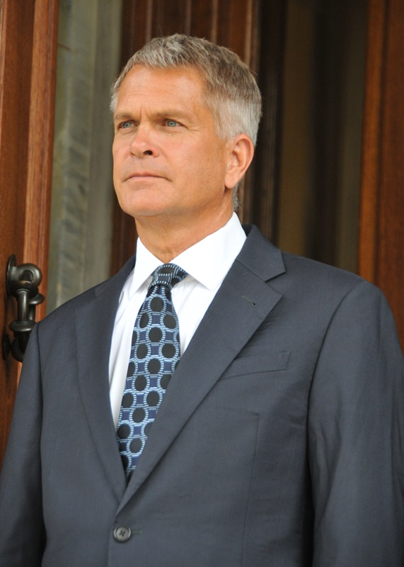 Ambassador of the Grand Duchy of Luxembourg, Paul Steinmetz