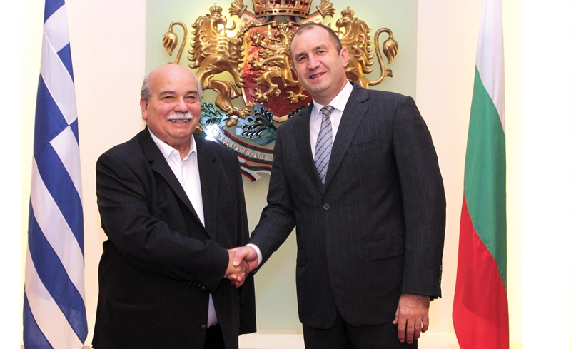 President of the Hellenic Parliament Visits Bulgaria