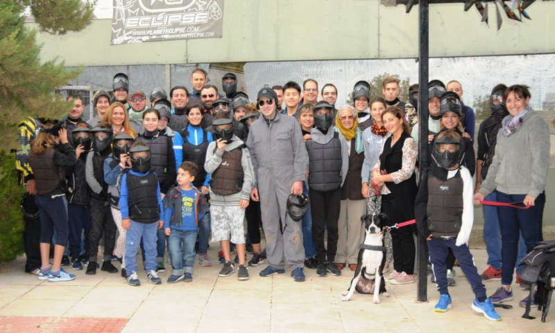 Athens Diplomatic Club and Greek Diplomatic Life magazine held their 1st Diplomatic Paintball event