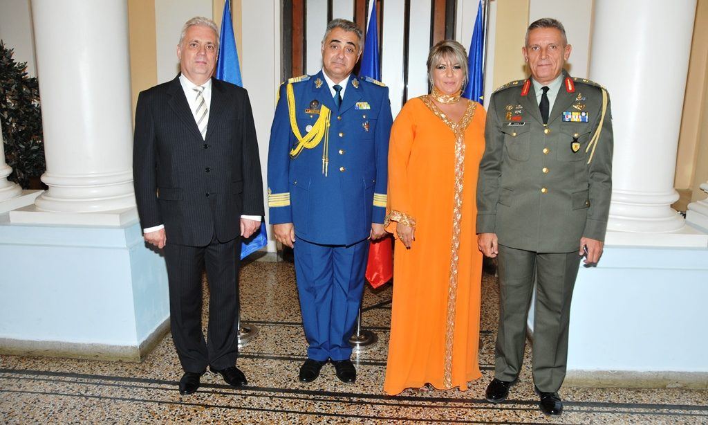 Romania commemorates Armed Forces Day in Greece
