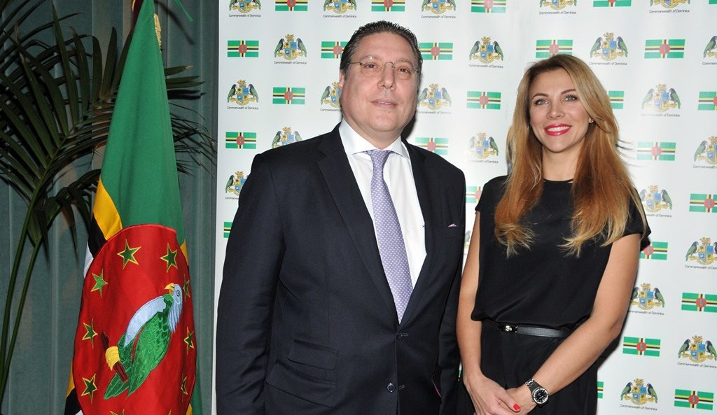 Reception followed by private dinner function marks the National Day of Dominica