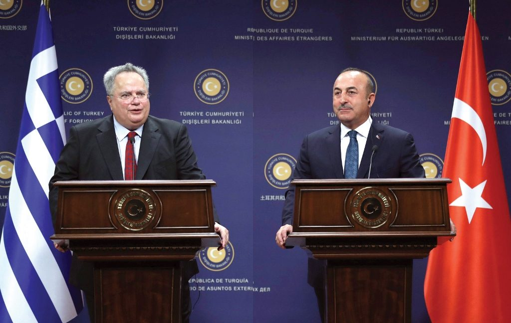 Greek Foreign Minister meets with leadership in Ankara
