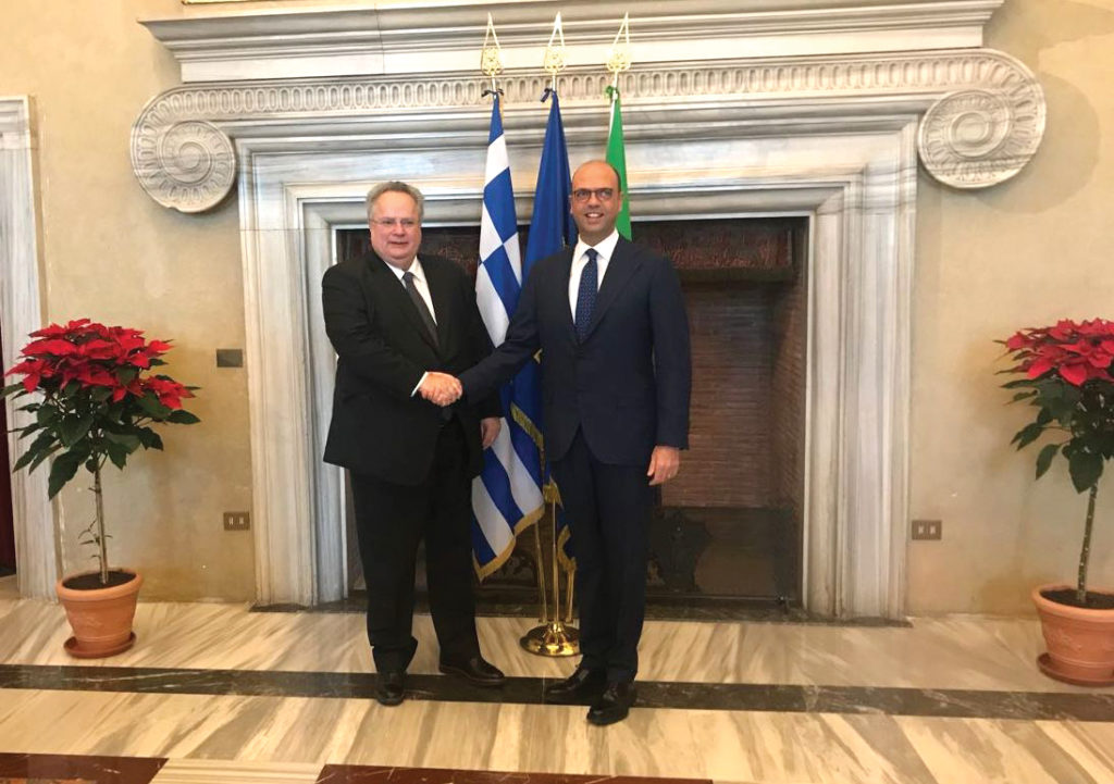 Minister of Foreign Affairs meets with counterpart in Italy