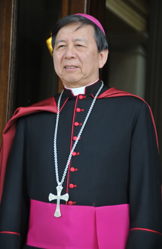 Ambassador of the Vatican City, Archbishop Savio Hon Tai-fai