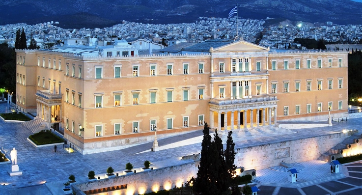 Diplomats Tour the Hellenic Parliament courtesy of ADC & GDL