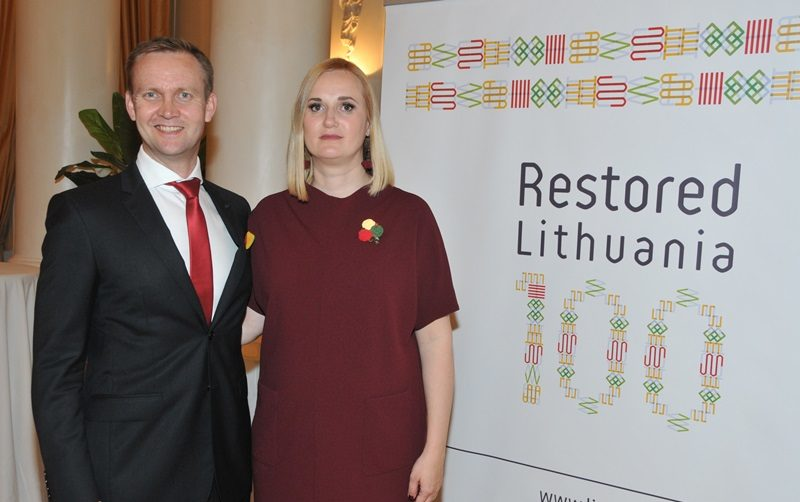 Reception commemorates the Centennial of Lithuania's Statehood