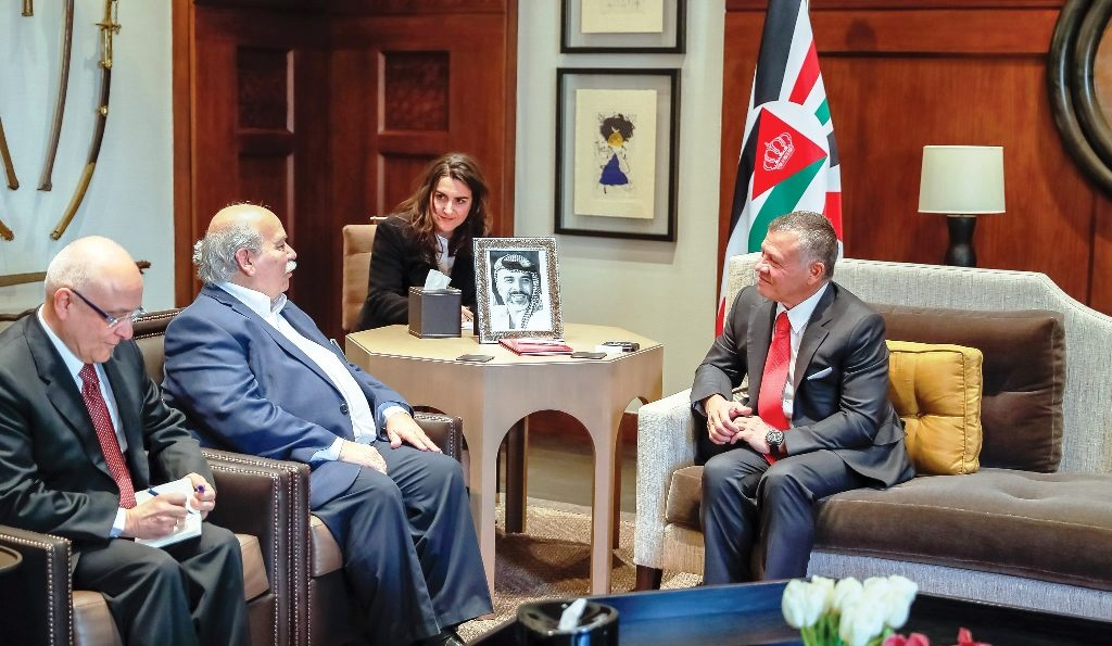 Official visit of the President of the Hellenic Parliament to Jordan