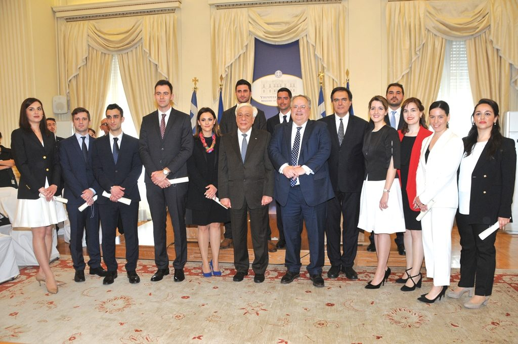 The XXIII Class of Embassy Attachés Swearing-in Ceremony