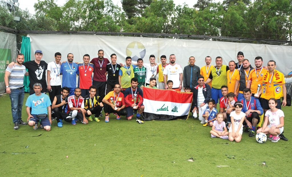 The ADC/GDL 8th Diplomatic Soccer Tournament