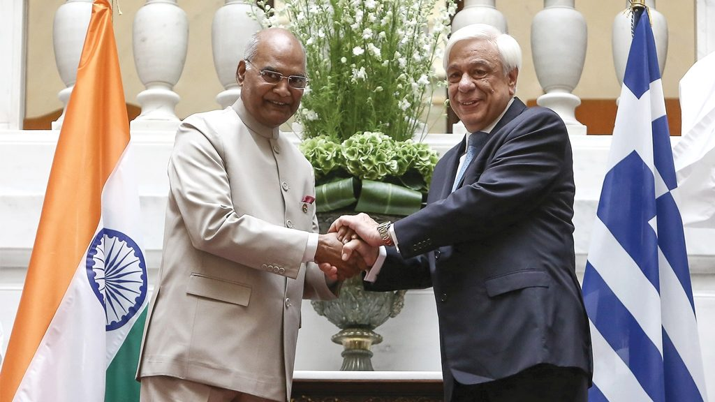 His Excellency the President of India pays State Visit to Greece