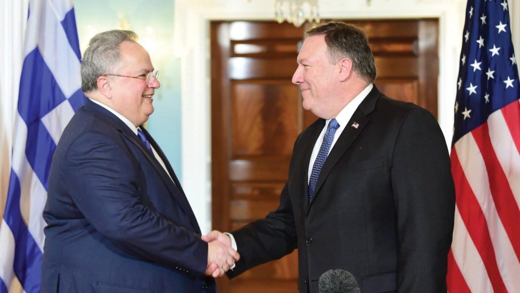 Foreign Minister Kotzias holds talks in Washington and New York