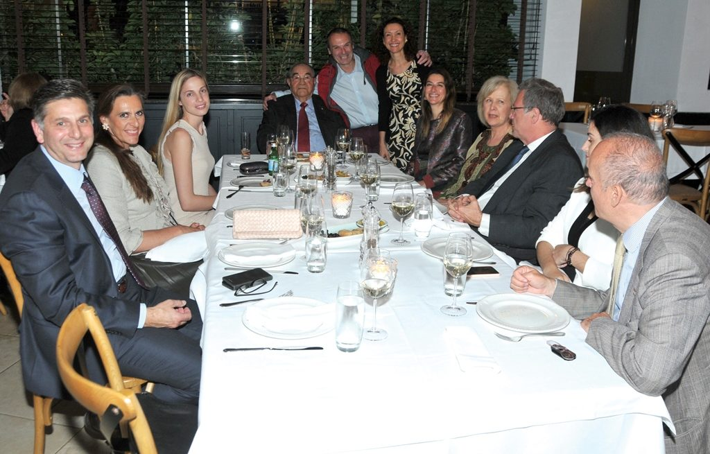 Consular Corps of Greece enjoys fine dining experience