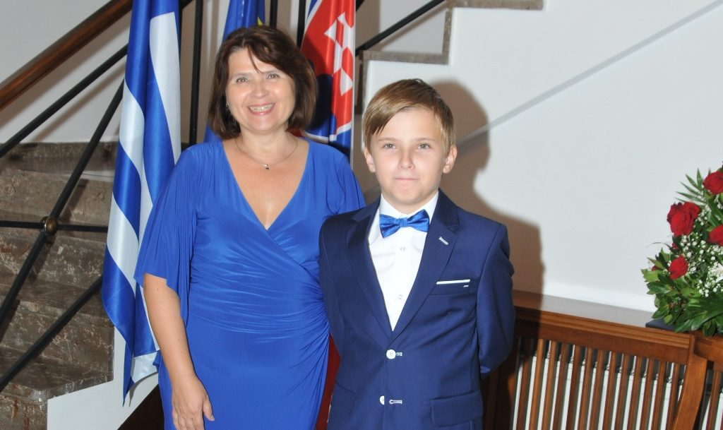 Ambassador hosts delightful reception for the National Day of Slovakia