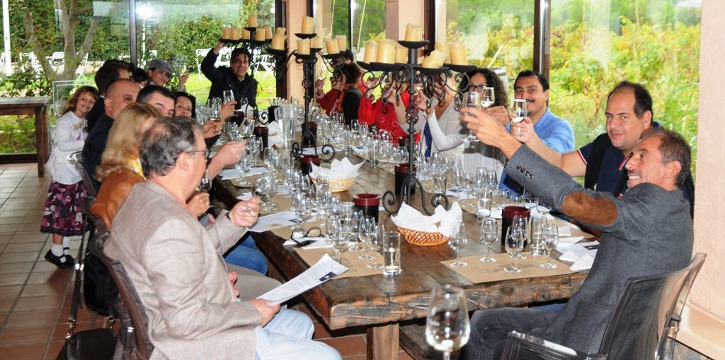 Athens Diplomatic Club tours the Kokotou Estate and samples their high quality wines