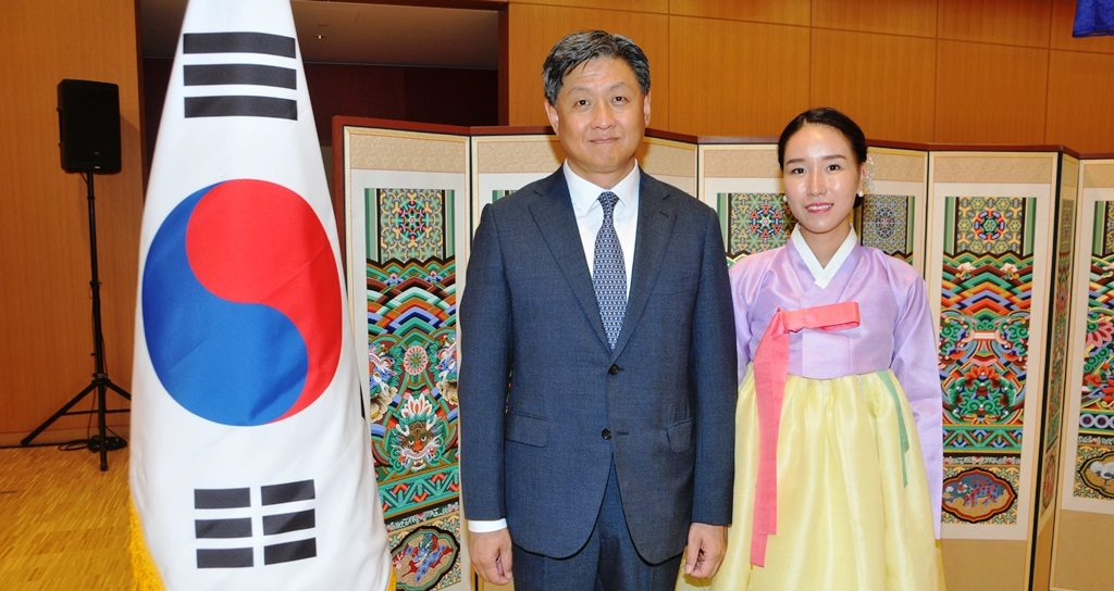 Glorious reception for Korean National Foundation Day