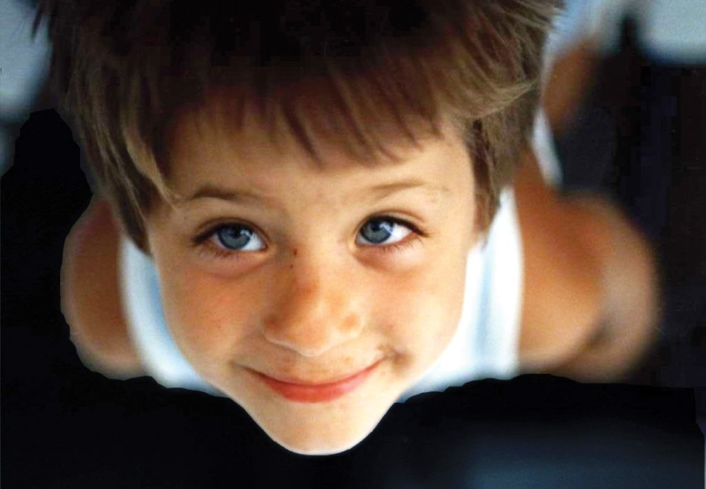 The face of the child which launched 23 years of action for the protection of children