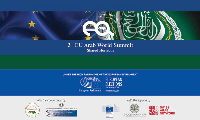 The '3rd EU-Arab World Summit: Shared Horizons' discusses the pivotal role of inter-regional cooperation