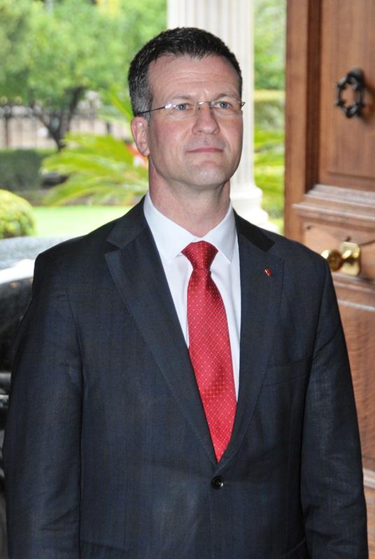 Ambassador of Canada, Mark Allen