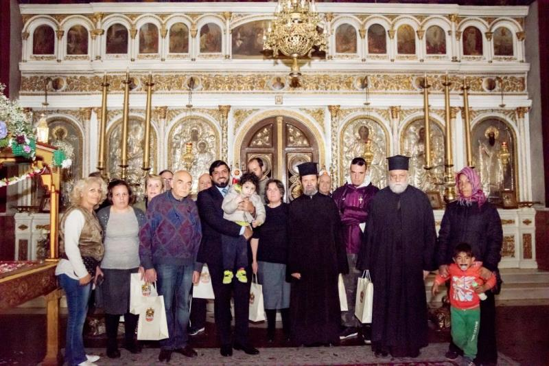 The UAE Embassy celebrates Easter with brothers at Agia Triada