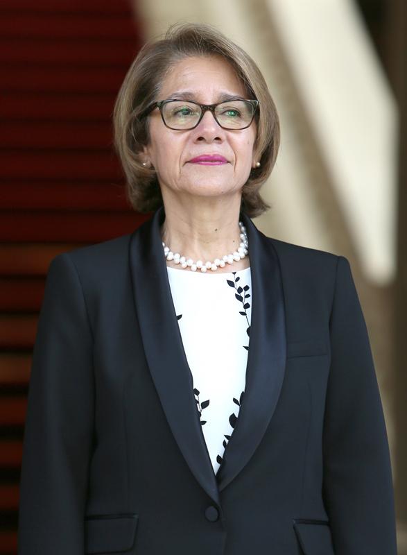Ambassador of Chile, Ximena Carolina Ares Mora