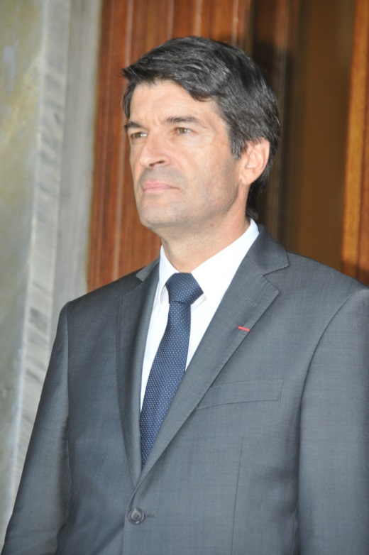 Ambassador of the French Republic, Patrick Maisonnave