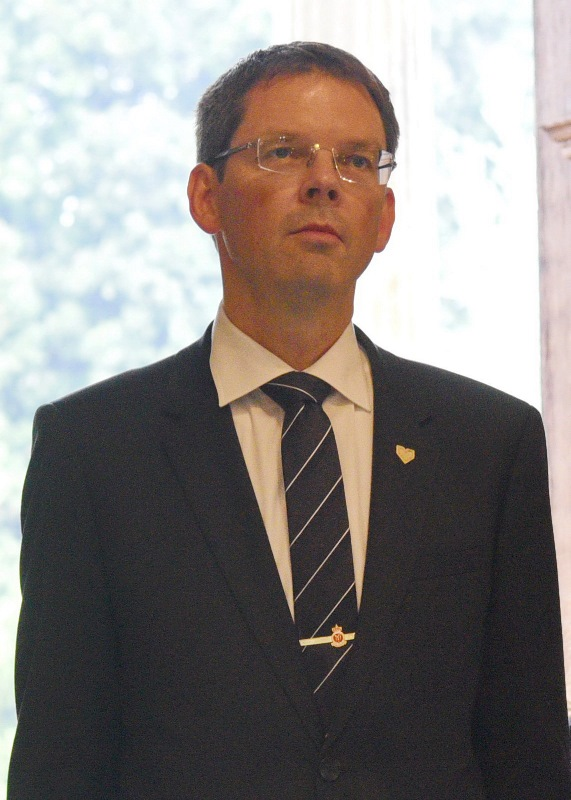 Ambassador of the Kingdom of Norway, Frode Overland Andersen