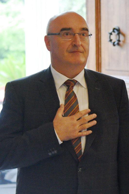 Ambassador of the Republic of Slovenia, Μatjaž Longar