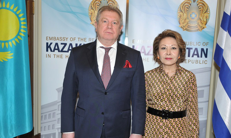 Diplomatic reception for the National Day of Kazakhstan