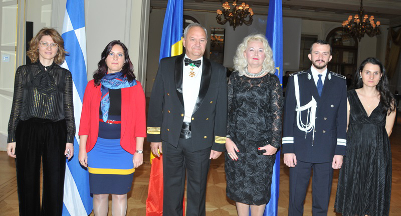 Reception marks the National Day of Romania