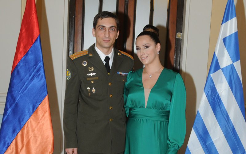 Armenian Armed Forces Day Commemorated in Greece