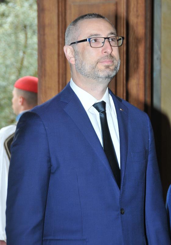 Ambassador of the Commonwealth of Australia, Arthur Spyrou