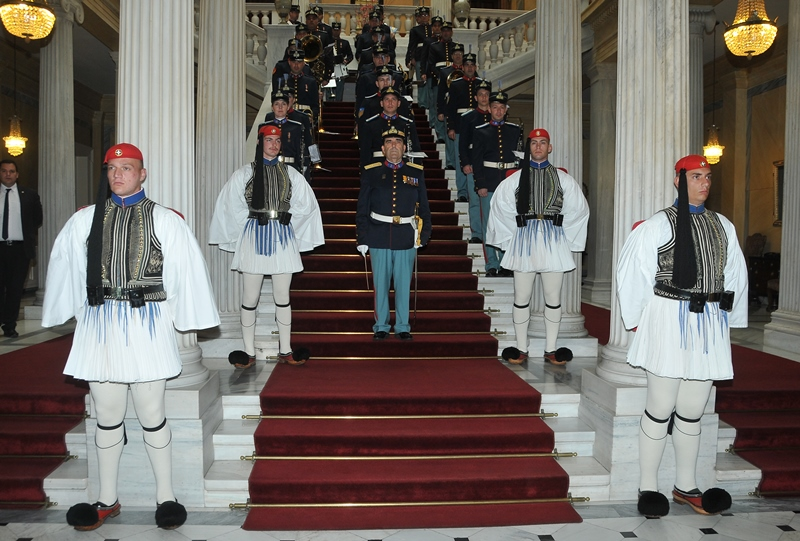 The newly-appointed Ambassadors of of Brazil, Australia, Panama and Romania present Credentials