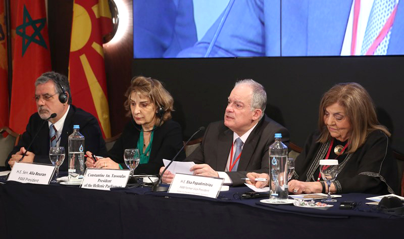 Athens hosts Parliamentary Assembly of the Mediterranean