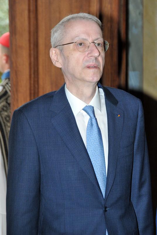 Ambassador of Romania, George Ciamba