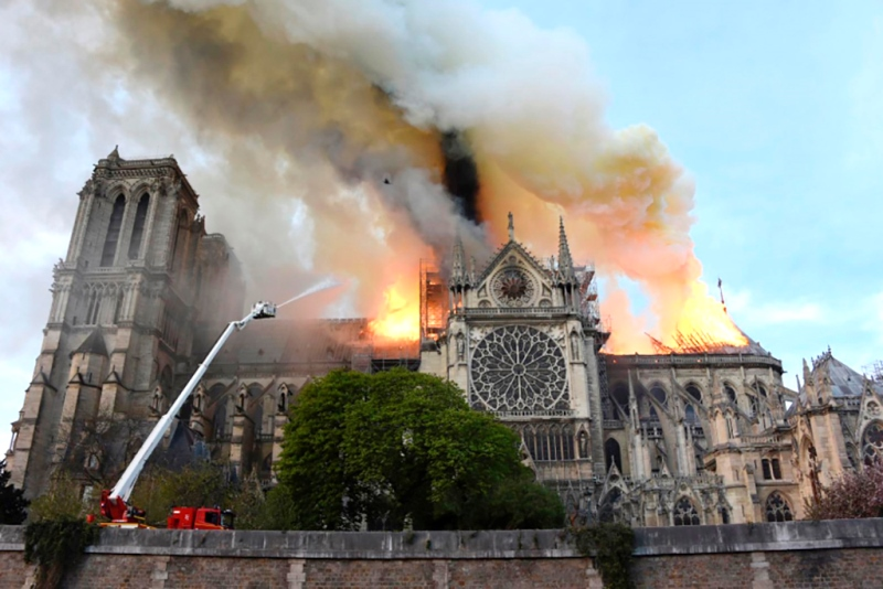 When time was wrapped in flames… protecting our cultural heritage