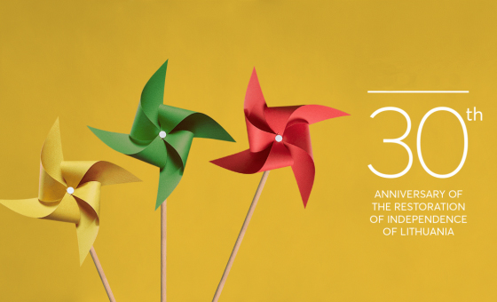 The 30th Anniversary of the Restoration of Lithuanian Independence