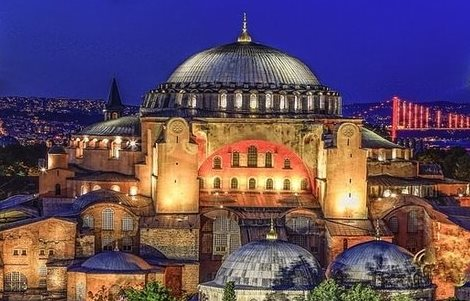 Hagia Sophia: The violation of a symbol by the Sec-Gen for Public Diplomacy, Religious & Consular Affairs