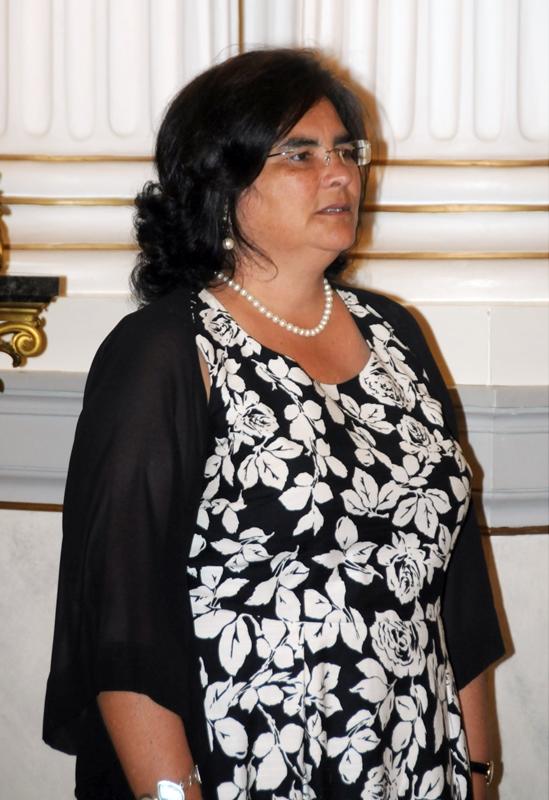 Ambassador of the Republic of Portugal, Helena Alexandra Andrade Furtado de Paiva