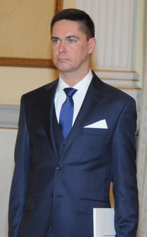 Ambassador of the Republic of Poland, Artur Piotr Lompart