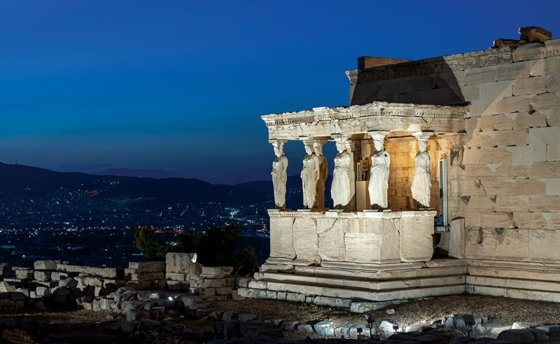 Global heritage monument gets a facelift: the Acropolis under an entirely new lighting system