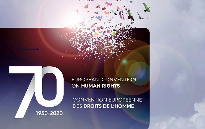 70th Anniversary of the signing of the Convention on Human Rights