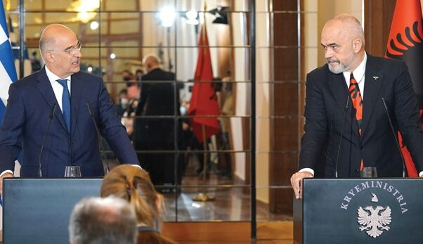 Albanian leadership receives visiting Greek Foreign Minister