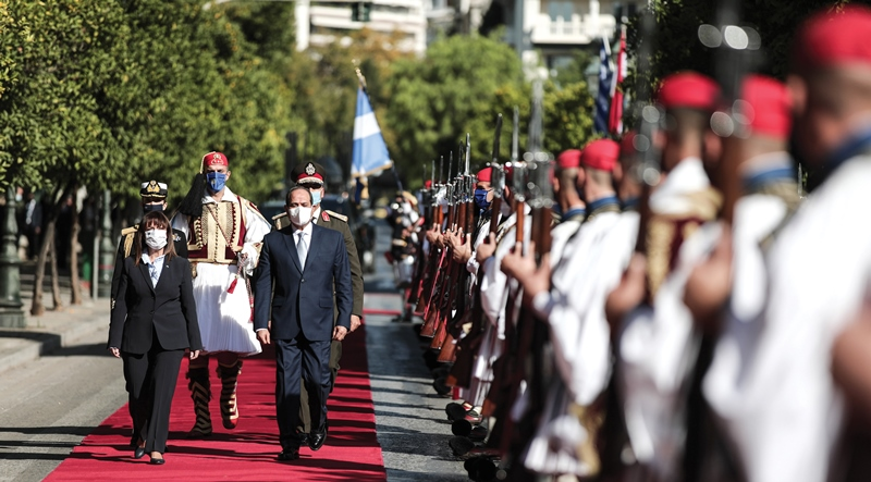 State Visit of the President of the Arab Republic of Egypt to Greece