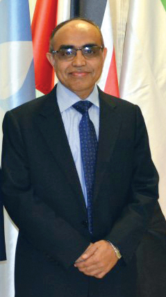 Ambassador of the People's Republic of Bangladesh, Ashud Ahmed