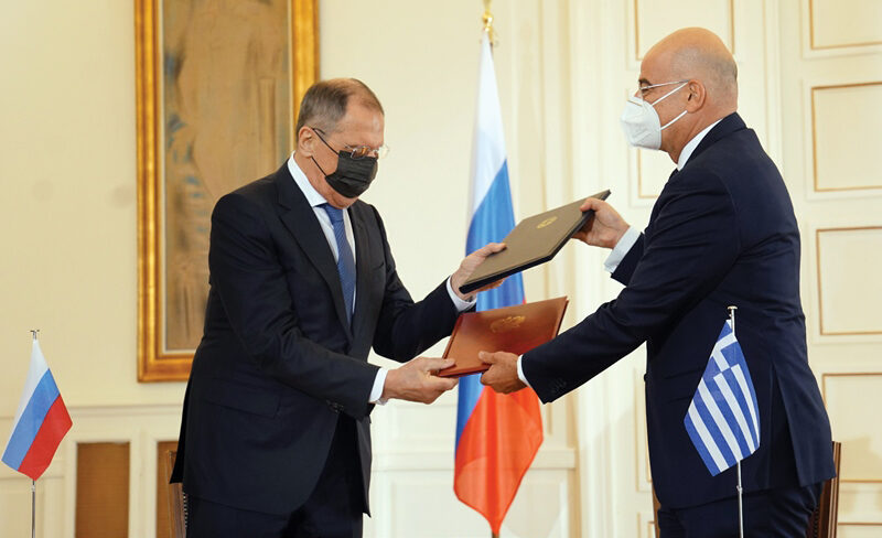 Official Visit of the Minister of Foreign Affairs of the Russian Federation to Greece