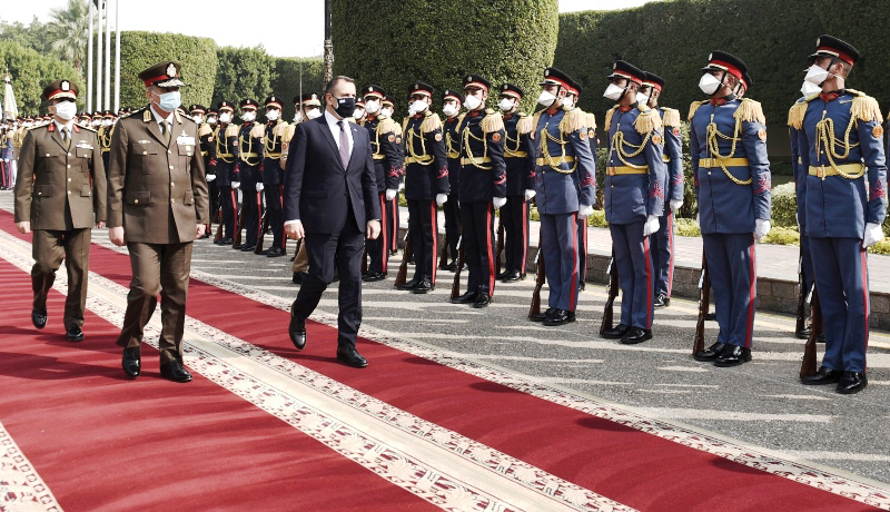 Minister of National Defence pays Official Visit to Egypt