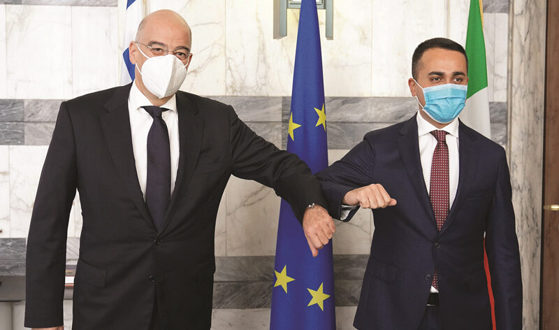 Foreign Minister meets with counterparts in Rome and Lisbon
