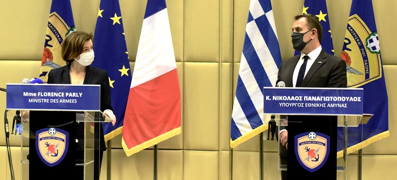 Official Visit by the French Minister of Defence to Greece