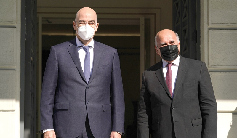Visit of the Foreign Minister of Iraq to Greece